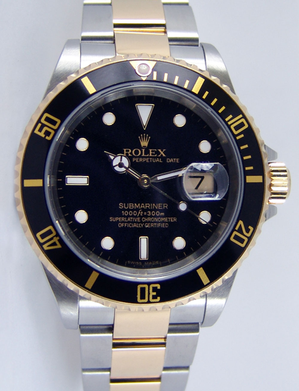 Rolex Submariner Black Face