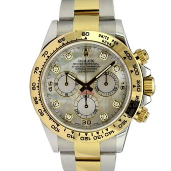 Rolex Daytona Watch | Mother of Pearl Diamond 116503 | Watch Chest
