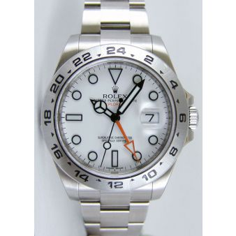 New Rolex Explorer 2 II White Dial 216570 | WATCH CHEST