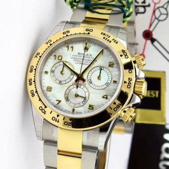 Rolex Daytona Watch | Mother of Pearl Dial 116503 | Watch Chest