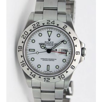 Rolex Explorer II White Dial 16570 Holes | WATCH CHEST