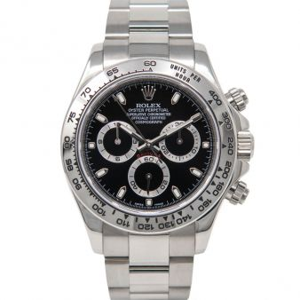 Rolex Cosmograph Daytona 116509 Wrist Watch Black Face