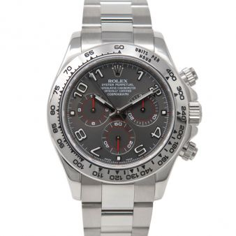 Rolex Cosmograph Daytona 116509 Wrist Watch Grey Arabic Face
