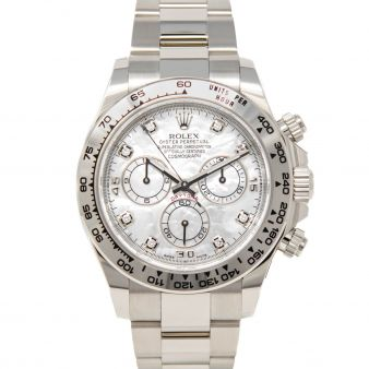 Rolex Daytona 116509 Wristwatch Mother of Pearl Diamond