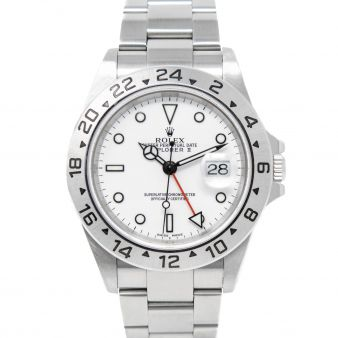 Rolex Explorer II, White Face, Steel, 16570