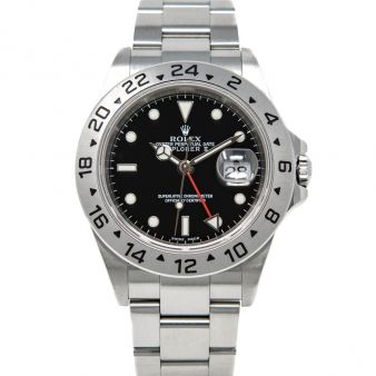 Rolex Explorer II 16570 Wristwatch Black Face