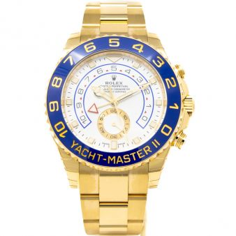 New Rolex Yacht-Master II 116688 Wristwatch White Face