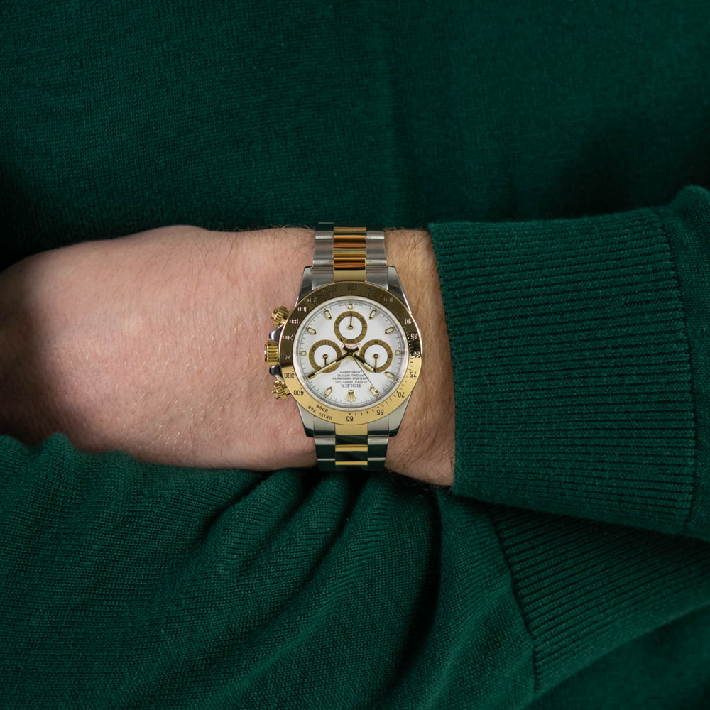 2c8eb7b95ab Genuine Rolex Men s Cosmograph Daytona Watch