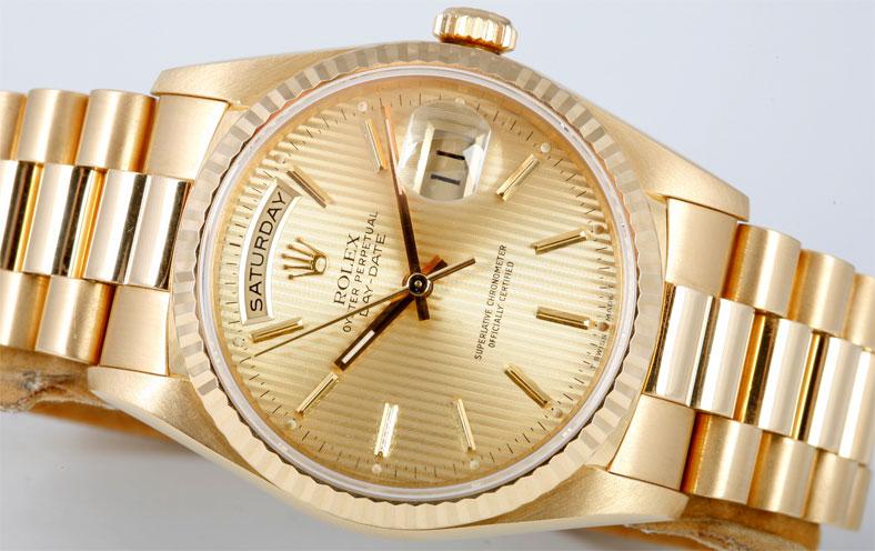 Rolex Gold President