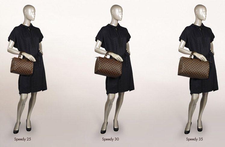 Designer Bag Directory Louis Vuitton Handbag Size