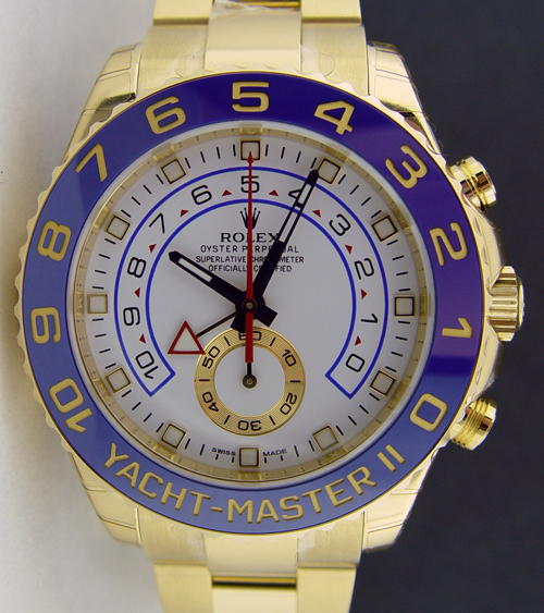 Rolex Yachtmaster 2 White Dial 116688