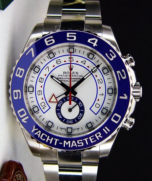 Rolex Yachtmaster 2 White Dial 116689