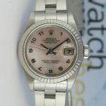 Rolex Lady Datejust Mother of Pearl Arabic 79174 Watch Chest