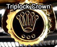 Rolex Triplock Crown