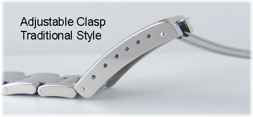 Adjustable Clasp of Rolex